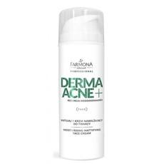 Увлажняющий матирующий крем для лица DERMAACNE + Farmona Professional