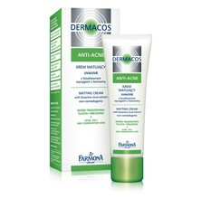 Дневной крем, придающий матовость UVA/UVB «Dermacos Anti-Acne»