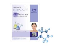 Маска для лица Арбутин и коллаген/ Arbutin Collagen Essence Mask Dermal