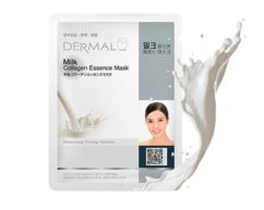 Маска для лица Молочные протеины и коллаген /Milk Collagen Essence Mask Dermal