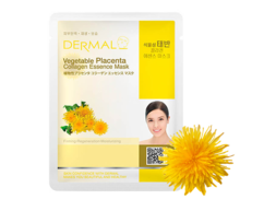 Маска для лица Растительная плацента и коллаген/Vegetable Placenta Collagen Essence Mask Dermal