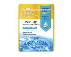 Маска-эссенция коллагеновая с Гиалуроновой кислотой/Hyaluronate Collagen Essence Mask DERMAL PREMIUM