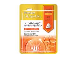 Маска-эссенция коллагеновая с Коэзимом Q10 /Coenzyme Q10 Collagen Essence Mask DERMAL PREMIUM