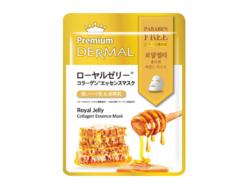 Маска- эссенция коллагеновая с Маточным молочком/Royal Jelly Collagen Essence Mask DERMAL PREMIUM