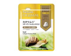 Маска-эссенция коллагеновая с Улиткой Snail Collagen Essence Mask DERMAL PREMIUM