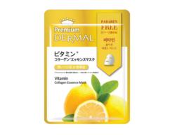 Маска-эссенция коллагеновая с Витаминами Vitamin Collagen Essence Mask DERMAL PREMIUM