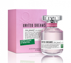 Туалетная вода для женщин Benetton United Dreams Love Yourself