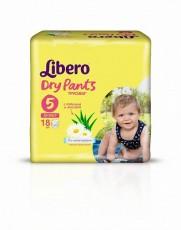 Детские подгузники-трусики Libero Dry Pants Maxi Plus 5 (10-14 кг)