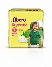 Детские подгузники-трусики Libero Dry Pants XL Plus 7 (16-26 кг)