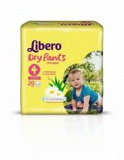 Детские подгузники-трусики Libero Dry Pants Maxi 4 (7-11 кг)