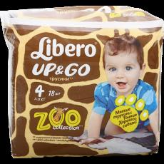 Детские подгузники-трусики Libero Up&Go 4 Maxi 7-11 кг