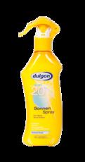 """Солнцезащитный лосьон-спрей """"SPF 20"""" Dulgon"""
