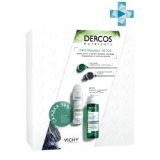 Набор (Глубоко очищающий шампунь, 250 мл + Сухой шампунь, 150 мл) VICHY DERCOS NUTRIENS Detox