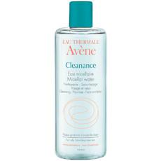 Вода мицеллярная для снятия макияжа для жирной кожи AVENE CLEANANCE