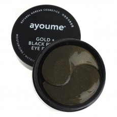 Патчи для глаз Ayoume Золото и черный жемчуг, 60 шт