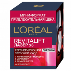 Ночной лосьон-пилинг L'Oreal Dermo Expertise Revitalift Лазер x3