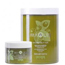 Натуральная питательная маска для сухих волос с маслом ши MAQUI 3 NOURISHING BUTTERY VEGAN MASK ECHOS LINE