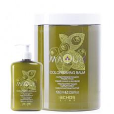 Натуральный кондиционер для защиты цвета окрашенных и обесцвеченных волос MAQUI 3 PROTECTIVE VEGAN CONDITIONER ECHOS LINE