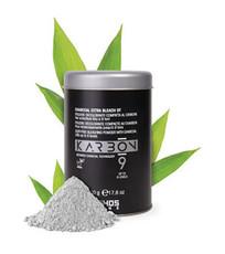 Обесцвечивающий угольный порошок для осветления до 9 тонов CHARCOAL EXTRA BLEACH KARBON 9 ECHOS LINE