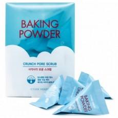 Скраб для лица, 7 г Etude House Baking Powder Crunch Pore Scrub (5шт)