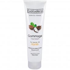 Увлажняющий скраб для лица с маслом Ши Evoluderm Moisturizing Face Scrub Shea Butter