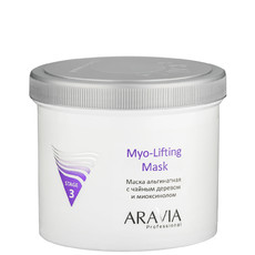 Маска альгинатная с чайным деревом и миоксинолом Myo-Lifting ARAVIA Professional