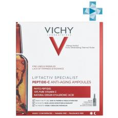 Концентрированная антивозрастная сыворотка в ампулах, 10 штук VICHY LIFTACTIV Specialist Peptide-C