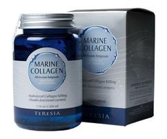 Сыворотка антивозрастная с морским коллагеном Teresia Marine Collagen All in one ampoule