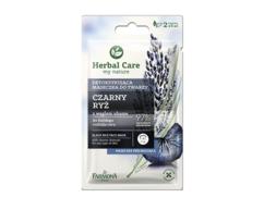 Маска для лица детоксифицирующая Черный рис Herbal Care Farmona, 2уп