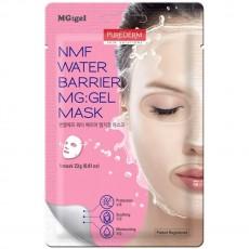 Гидрогелевая увлажняющая маска для лица NMF WATER BARRIER MG:GEL Mask PUREDERM