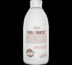 Интенсивный восстанавливающий шампунь с маслом кокоса OLLIN FULL FORCE