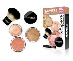 """Набор для макияжа """"Безупречность"""" Flawless Complexion Kit BELLAPIERRE"""