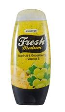 Гель для душа Starfruit & Gooseberry + Vitamin Е MODUM FRESH