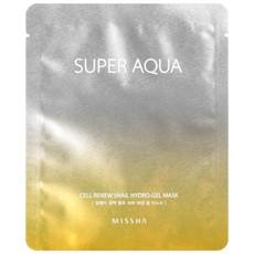 Регенерирующая гель-маска для лица MISSHA Super Aqua Cell Renew Snail Hydro Gel Mask