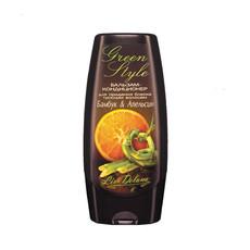 Бальзам-кондиционер для придания блеска тусклым волосам Бамбук&Апельсин «GREEN STYLE» Liv Delano