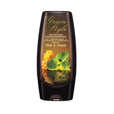Бальзам-кондиционер для нормальных и склонных к жирности волос Мята&Ананас «GREEN STYLE» Liv Delano