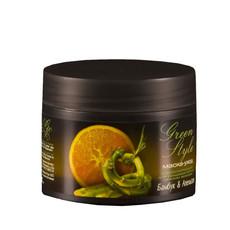 Стимулирующая маска-уход для придания блеска тусклым волосам Бамбук&Апельсин «GREEN STYLE» Liv Delano