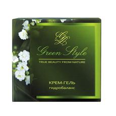 Крем-гель гидробаланс дневной 25+ «GREEN STYLE» Liv Delano