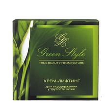 Крем-лифтинг для поддержания упругости кожи дневной 35+ «GREEN STYLE» Liv Delano