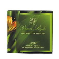 Крем против морщин интенсивного действия дневной 45+ «GREEN STYLE» Liv Delano