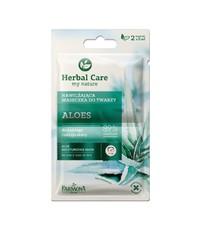 Увлажняющая маска для лица Алоэ Herbal Care Farmona