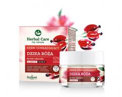 Придающий упругость крем на день/ночь против морщинок «Herbal Care Anti - wrinkle and firming day and night cream»