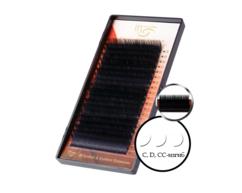 Матовые черные ресницы 20 линий  i-Beauty Premium Mink Eyelashes