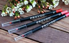 Гелевая подводка в карандаше для губ полу-перманентная Provoc Gel lip Liner Provoc