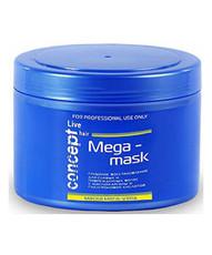 Маска МЕГА-УХОД для слабых и поврежденных волос Concept LIVE HAIR