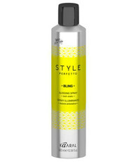 Спрей для блеска волос BLING ANTI FRIZZ GLOSSING SPRAY