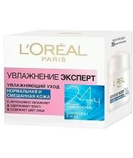 Крем для лица L'Oreal Dermo Expertise Увлажнение эксперт для нормальной и смешанной кожи