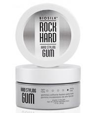 Эластичный гель для укладки волос экстрасильной фиксации Rock Hard Styling Gum Biosilk