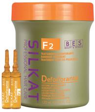 Активный лосьон от перхоти F2 DEFORFORANTE SILKAT BES Beauty&Science