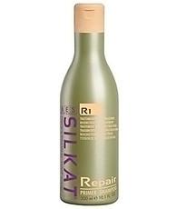 Подготовительный шампунь для глубоко очищения волос Primer Shampoo R1 REPAIR SILKAT BES КЕРАТИНОВОЕ ВОССТАНОВЛЕНИЕ BES Beauty&Science